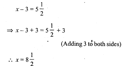 Selina Concise Mathematics Class 6 ICSE Solutions - Simple (Linear) Equations (Including Word Problems) - r7