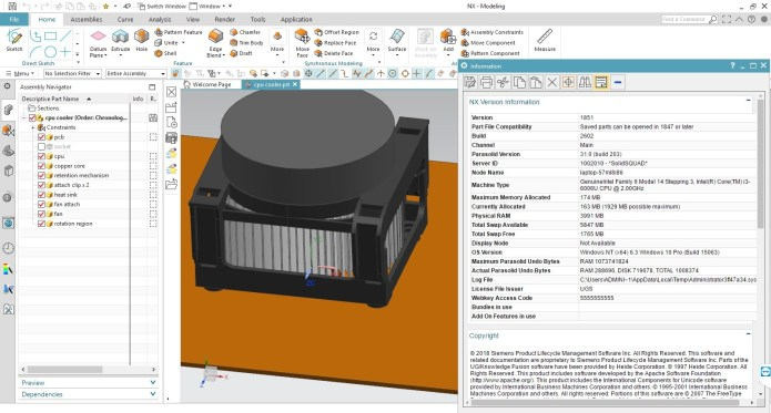 Design with Siemens NX 1851 Win64 full license
