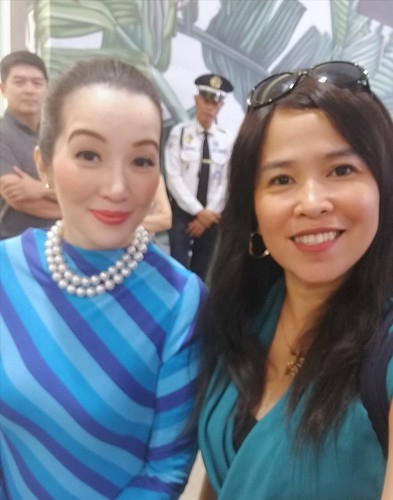 Asvel PH with Kris Aquino