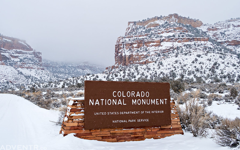Snow Day at The Monument