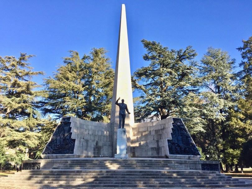 Itinerario di Trento - Monumento in Parco Venezia