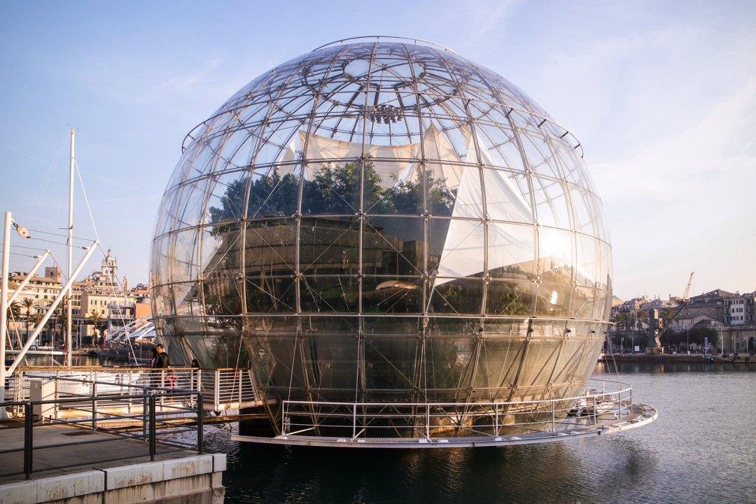 Biosfera, Acquario di Genova