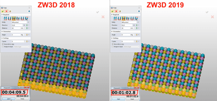 Compare ZWCAD ZW3D 2019 with ZWCAD ZW3D 2018 full