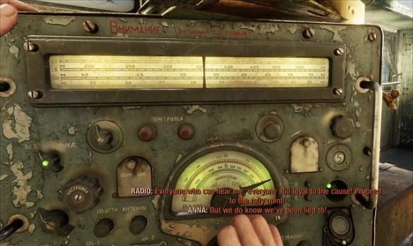 Metro Exodus - Radio Signal