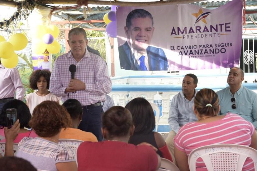 Pastor Israel Encarnación, Sector Luz María.