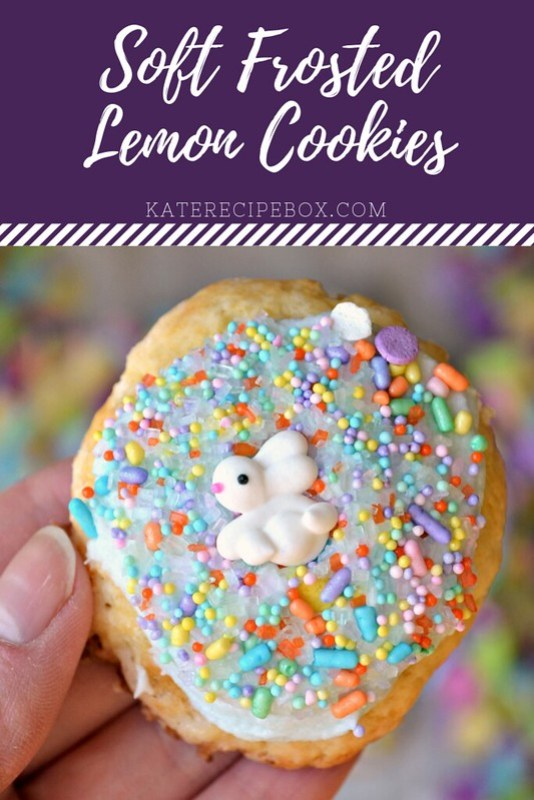 Soft Frosted Lemon Cookies