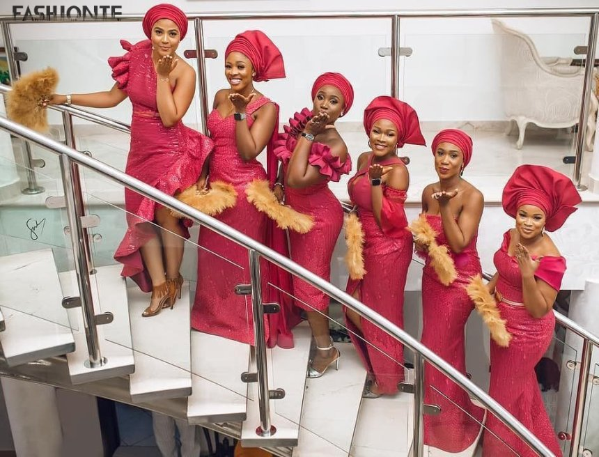 Aso-Ebi Styles to achieve the great look 2019