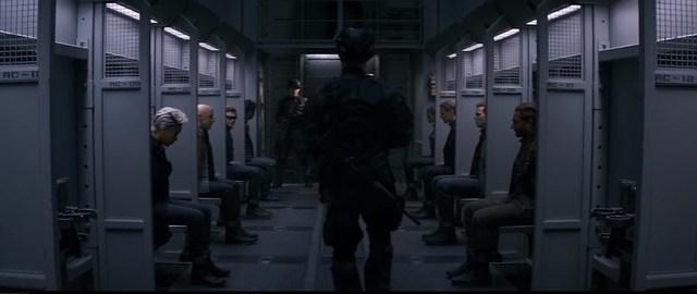 एक्स-मेन डार्क फीनिक्स - ट्रेन दृश्य