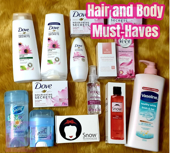 Watsons Hair and Body Must Haves