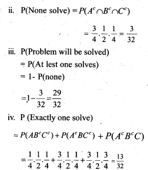 Plus Two Maths Chapter Wise Questions and Answers Chapter 13 Probability 31