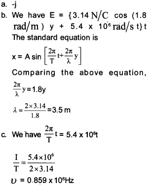 Plus Two Physics Chapter Wise Questions and Answers Chapter