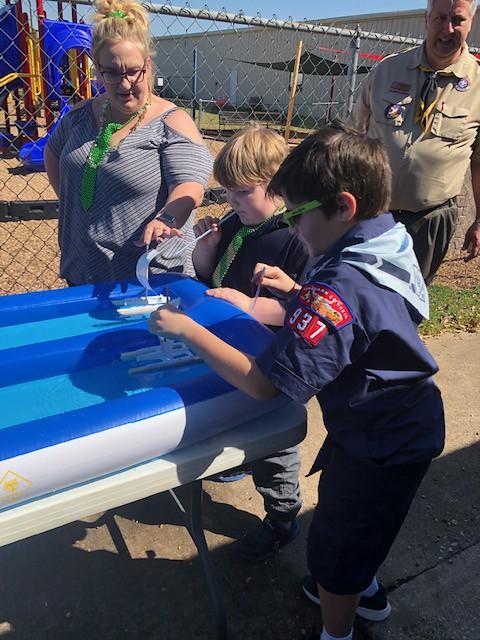 Cub Scouts Raingutter Regatta