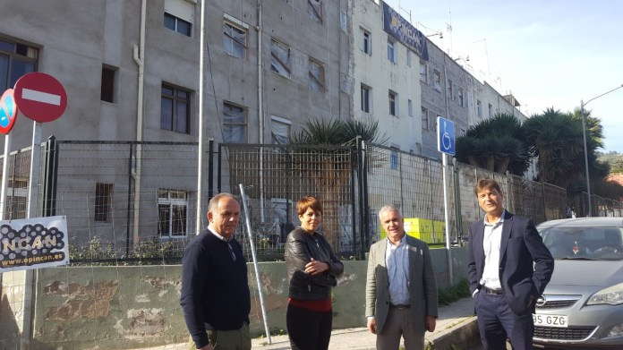 La rehabilitación de las viviendas de Barrio de Quevedo estará culminada en abril