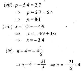 Selina Concise Mathematics Class 6 ICSE Solutions - Simple (Linear) Equations (Including Word Problems) - a2s.