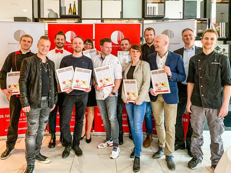 Gruppenbild mit Siegern