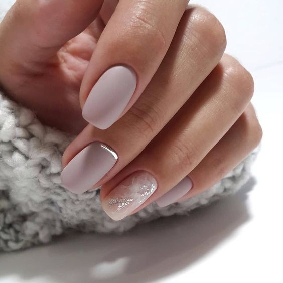 20+Elegant Nail Art Designs For Real Ladies , Style2 T