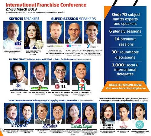 Franchise Asia Philippines 2019 - International Franchise Conference