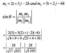 Plus Two Maths Chapter Wise Questions and Answers Chapter 11 Three Dimensional Geometry 49