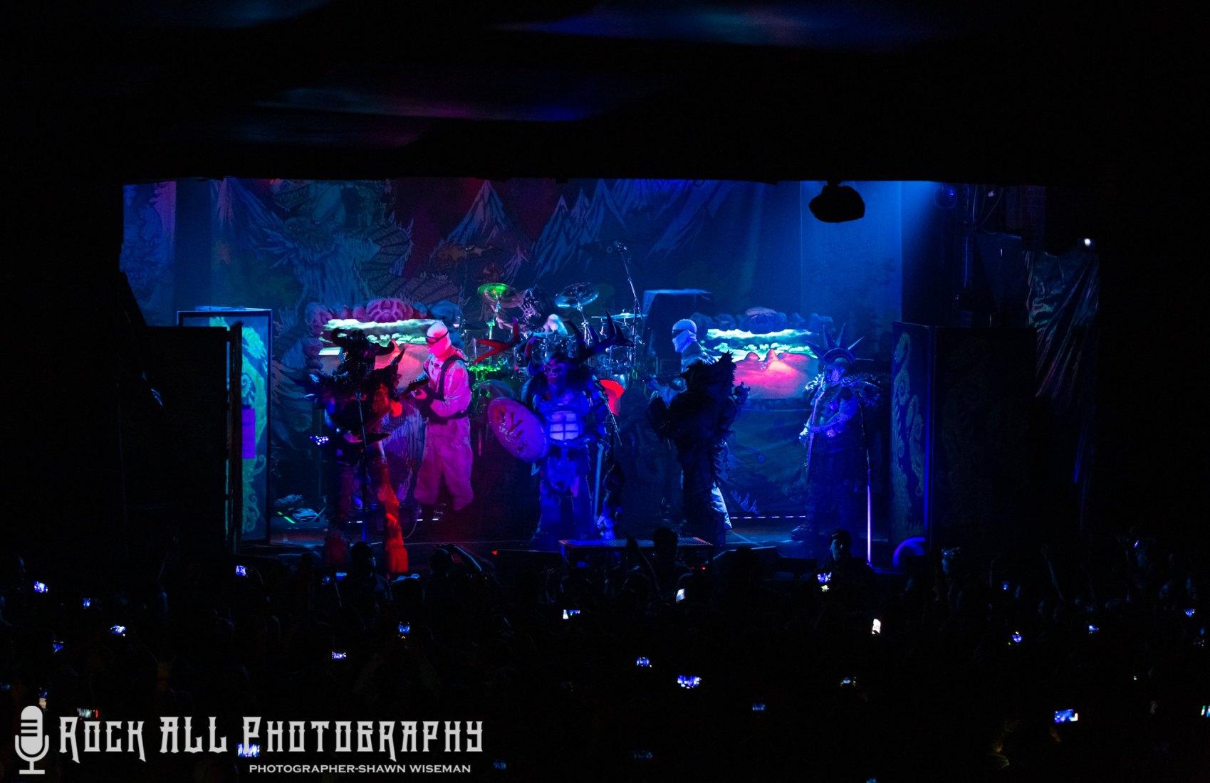 GWAR performing at Bogart's in Cincinnati, OH 12/28/18