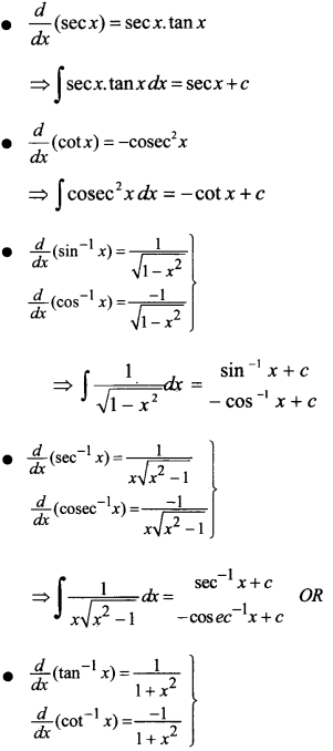 Plus Two Maths Notes Chapter 7 Integrals 3