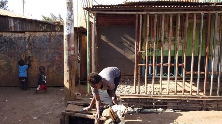 Kenya, Nairobi slum