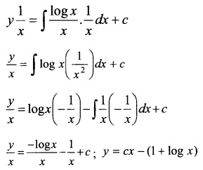 Plus Two Maths Chapter Wise Questions and Answers Chapter 9 Differential Equations 18