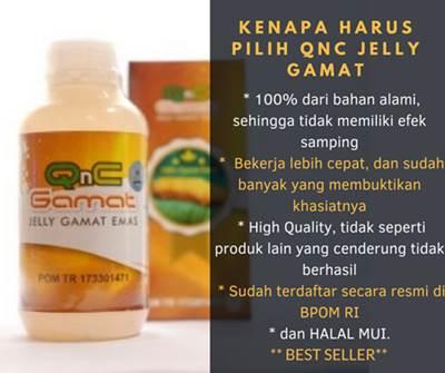 Obat Diabetes Dan Luka Diabetes Herbal QnC Jelly Gamat