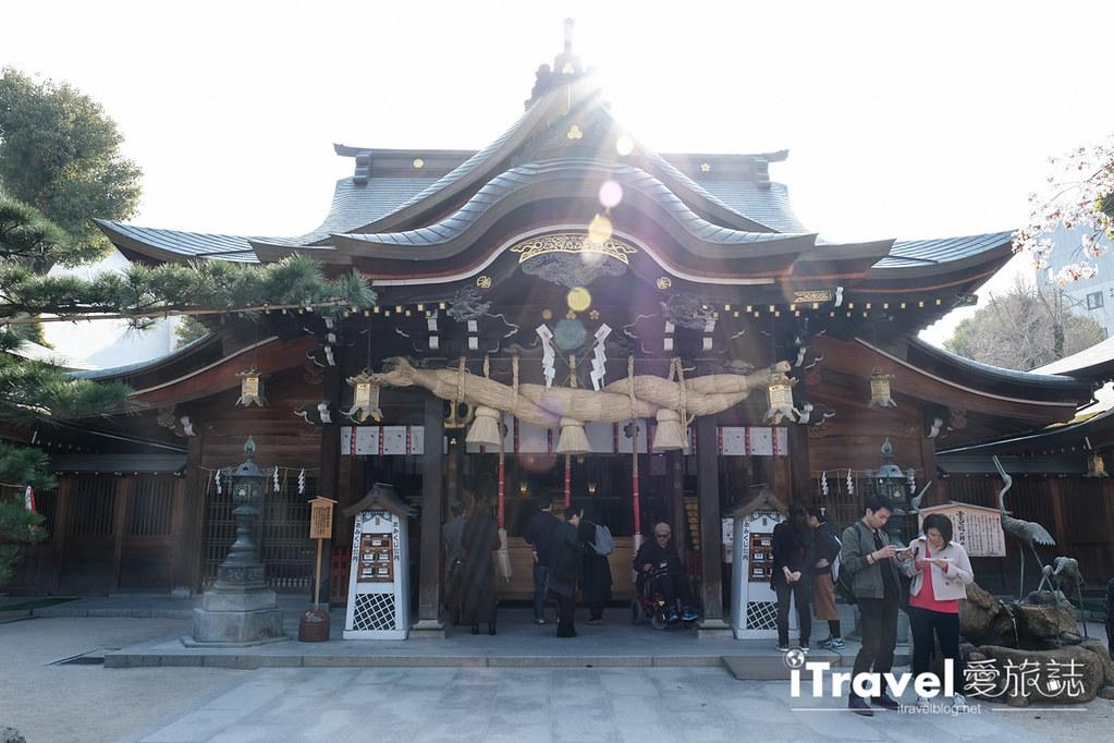 福岡賞櫻景點 櫛田神社 (12)