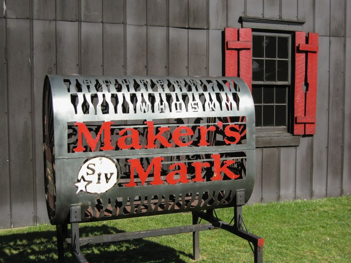 At the Maker's Mark Distillery
