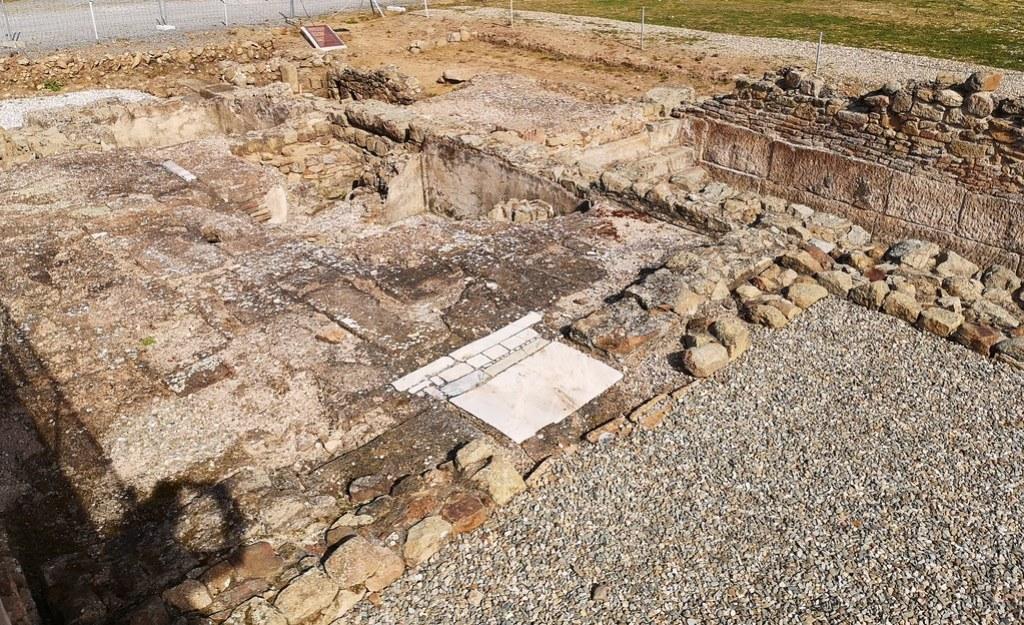 Domus viviendas ciudad romana Caparra via de la Plata Caceres 01