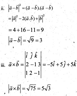Plus Two Maths Chapter Wise Questions and Answers Chapter 10 Vector Algebra 44