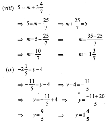 Selina Concise Mathematics Class 6 ICSE Solutions - Simple (Linear) Equations (Including Word Problems) - a5s..