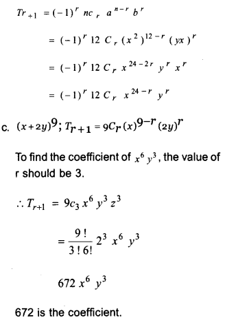 Plus One Maths Model Question Papers Paper 3A19