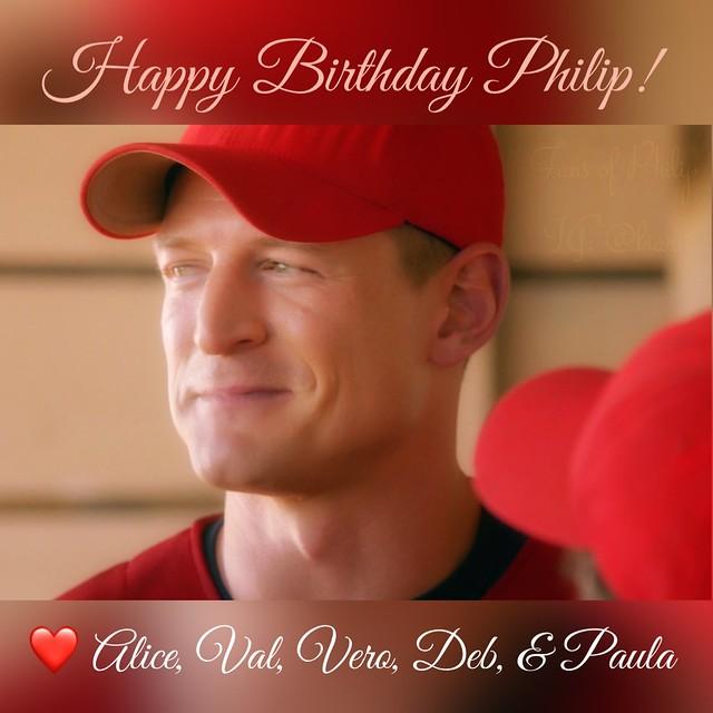 Happy Birthday Philip Winchester!