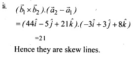 Plus Two Maths Chapter Wise Questions and Answers Chapter 11 Three Dimensional Geometry 10