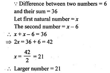 Selina Concise Mathematics Class 6 ICSE Solutions - Simple (Linear) Equations (Including Word Problems) - d16