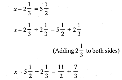 Selina Concise Mathematics Class 6 ICSE Solutions - Simple (Linear) Equations (Including Word Problems) - r28