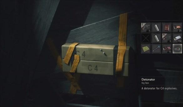 Resident Evil 2 Remake - C4