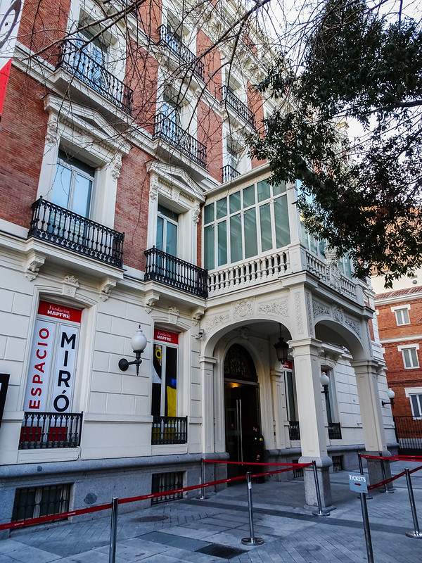 edificio exterior Fundacion Mapfre Madrid 03