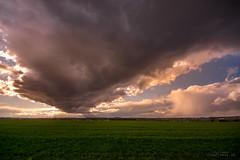Wolken über BS Stiddien