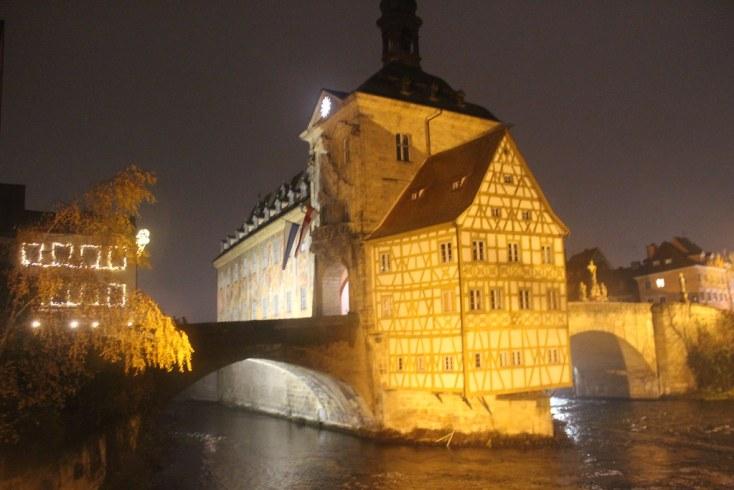 The city hall of Bamberg