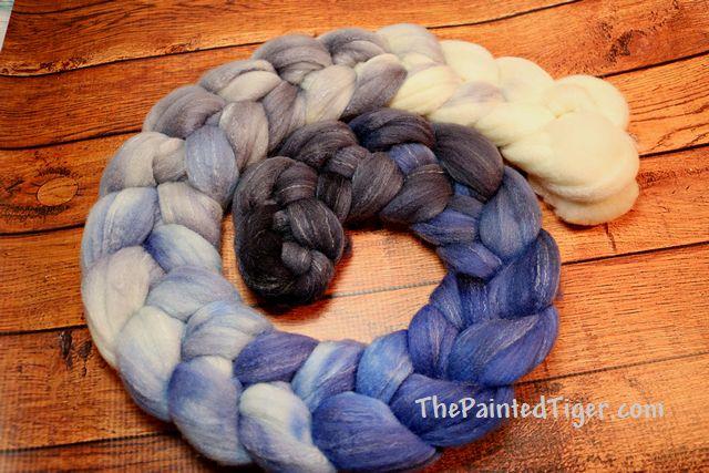 Twenty Below Gradient Targhee Bamboo Silk