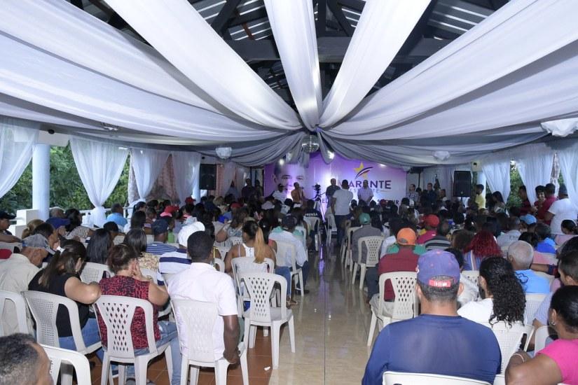 Terraza Restaurante Encuentro. Ocoa.