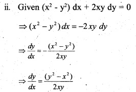 Plus Two Maths Chapter Wise Questions and Answers Chapter 9 Differential Equations 78