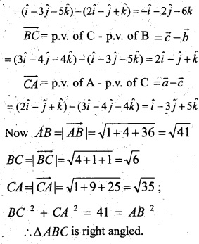 Plus Two Maths Chapter Wise Questions and Answers Chapter 10 Vector Algebra 28