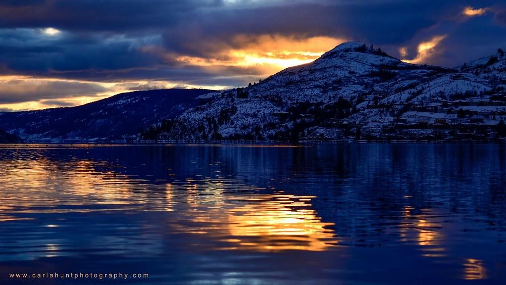 Yesterday afternoon on Kalamalka Lake, Coldstream, BC