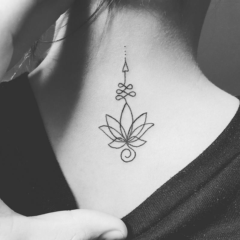 Tatuajes Unalome El Camino Hacia La Sabiduría Mini Tatuajes