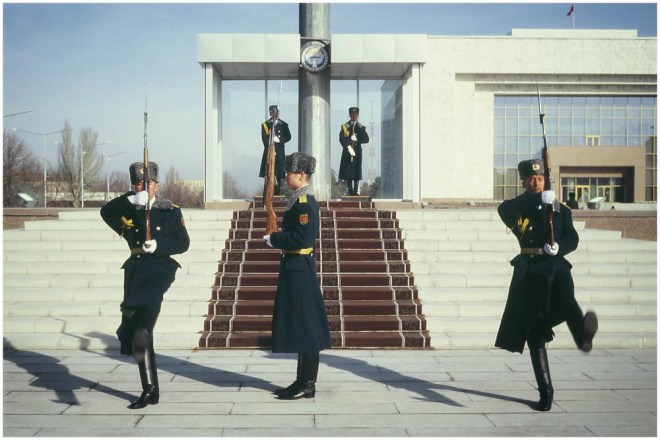 Changing the Guard, Bishkek