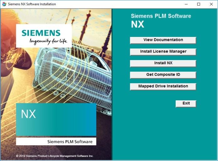 Install Siemens NX 1847 full license