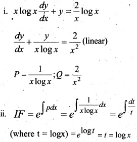 Plus Two Maths Chapter Wise Questions and Answers Chapter 9 Differential Equations 81